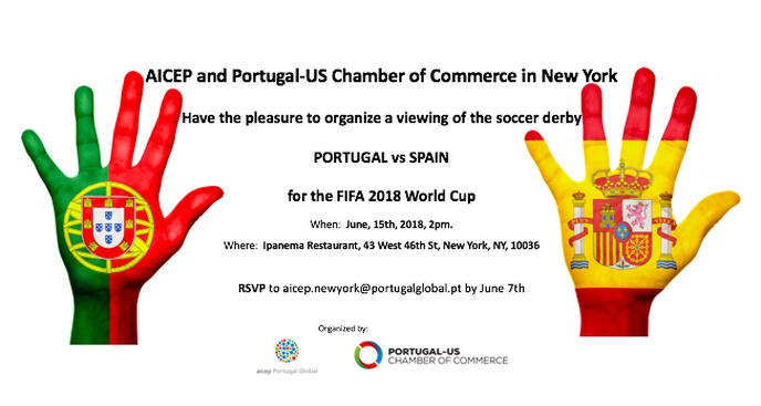 Portugal vs Espanha - 2018 World Cup viewing
