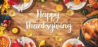 Giving Thanks in a unique year - Thank you to our members and friends!