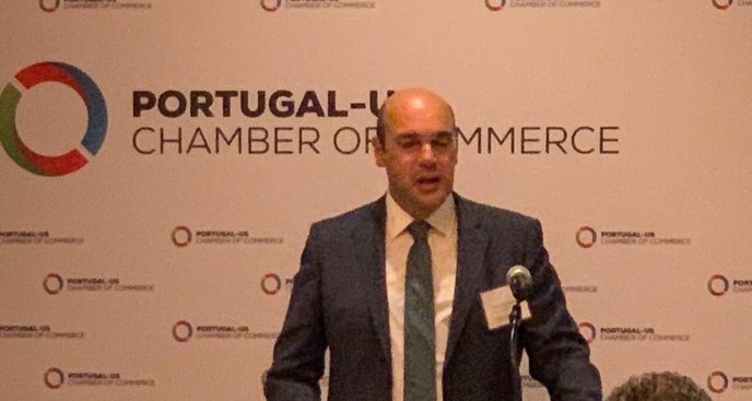 Press Release from Minister of Economy: meeting with investors promoted by the Portugal-US Chamber of Commerce