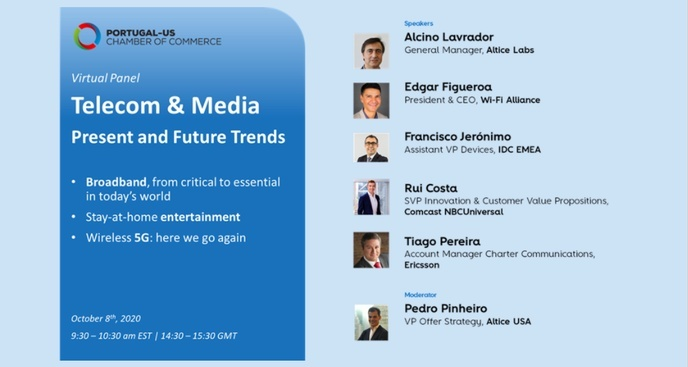 Virtual Panel - Telecom and Media: Present and Future Trends