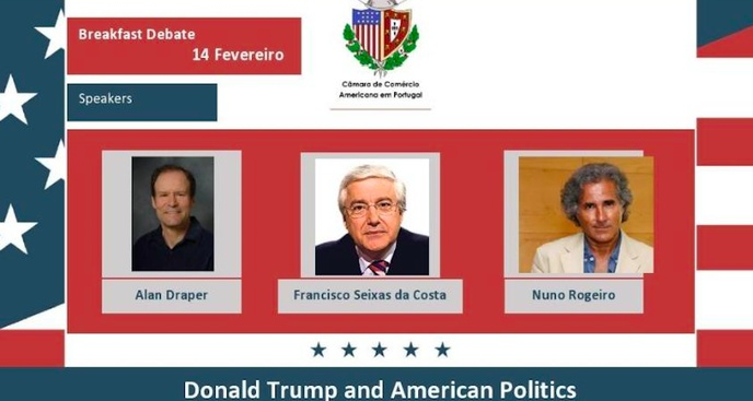 "Breakfast Debate ""Donald Trump and American Politics"" - February 14. 2020 in Lisbon"