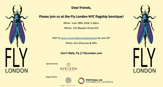 Fly London NYC Flagship Boutique Event