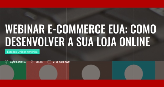Webinar E-commerce US: How to Build an Online Store - May 21 @ 11AM