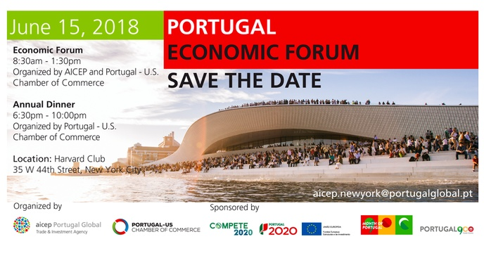 Portugal Economic Forum 2018 - Save the date!